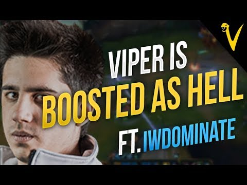 Viper playing like a boosted monkey ft IWDominate - Viper Stream Highlights Episode #40