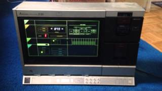 Vintage Electronics Find | MITSUBISHI Interplay System Z-20 ebay selling part time