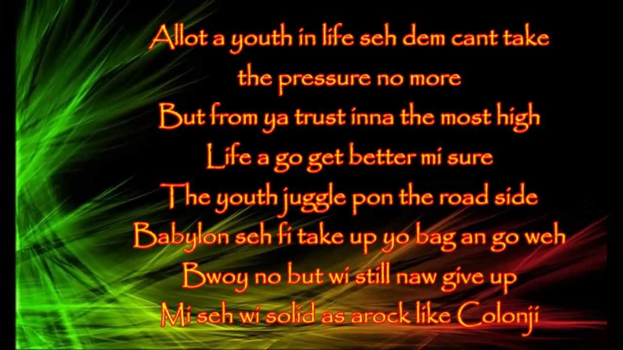 chronixx-aint-no-giving-in-with-lyrics-reggae-lyrics