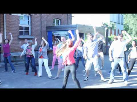 Flashmob wedding proposal / huwelijksaanzoek Antwerpen