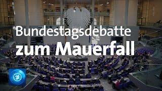 """Bundestagsdebatte """"30 Jahre Mauerfall"""""""
