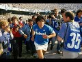 Diego Maradona vs AS Roma   1989 Serie A G8   1 Goal   All Touches & Actions