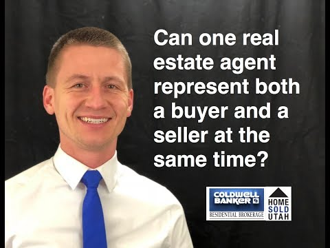 Can one real estate agent represent both a buyer and a seller at the same time?
