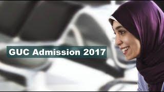 GUC Admission 2017