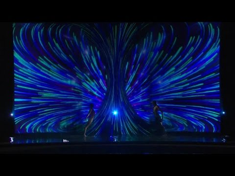 America's Got Talent 2015 S10E17 Live Shows - Freckled Sky Multimedia Dance Duo
