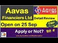 Aavas Financiers Ltd IPO | Aavas IPO | Aavas Ltd IPO | Aavas Financiers IPO Listing gainQuriousbox