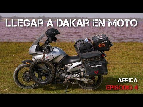 De Mauritania al Lago Rosa de Dakar | Vuelta al mundo en moto | África #4 [ENG SUB]