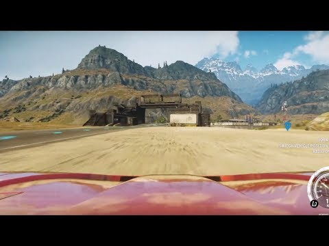 HOW BIG IS THE MAP In Just Cause 4? Drive Across The Map Fast