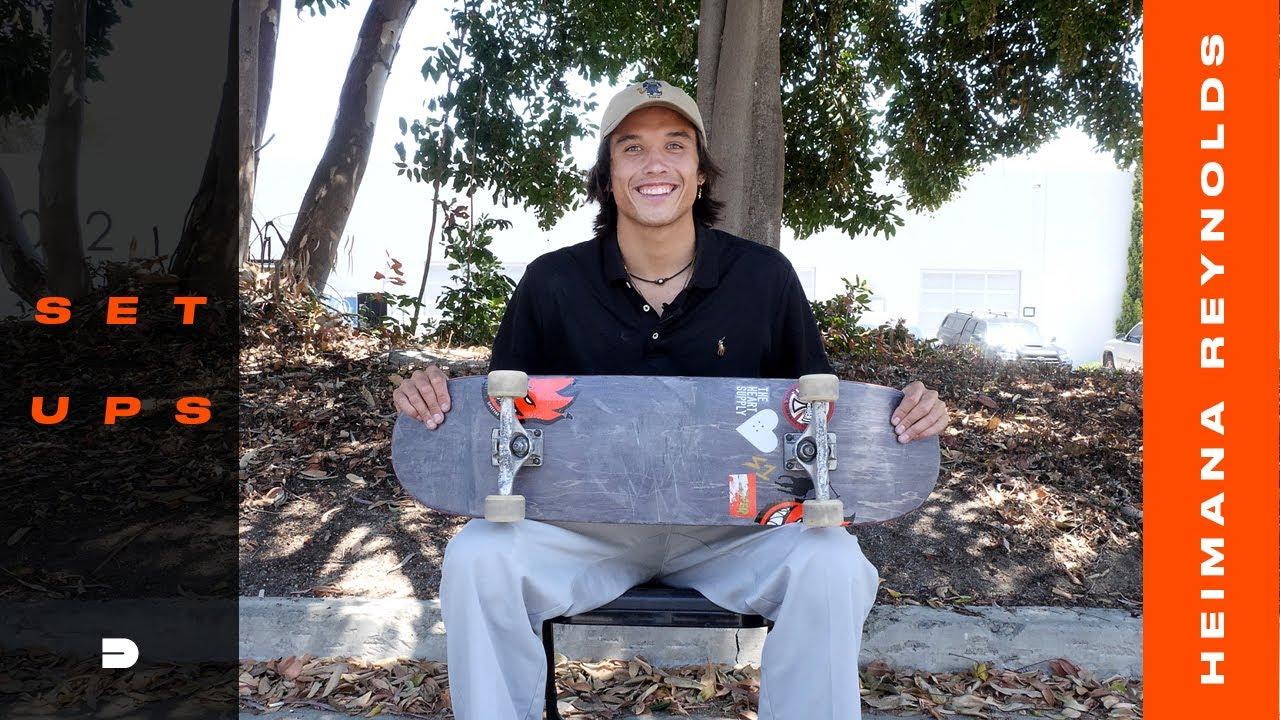 Setups: Team USA's Heimana Reynolds Skateboard Park Setup