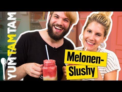 Wir machen SLUSHY SELBST! // Wassermelonen-Slushy // #yumtamtam