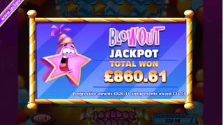 £860.61 PROGRESSIVE WIN (819 X STAKE) TREK THROUGH TIME ™ BIG WIN SLOTS AT JACKPOT PARTY