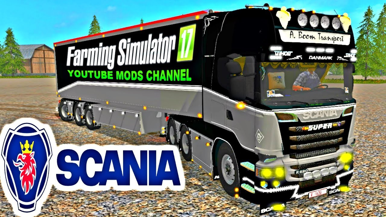 Farming Simulator 17 Mods Super R-730 Pack