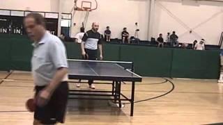 Mikhail Chernobelskiy vs Lev Vays -Over 60 Singles-Table Tennis / Ping Pong-GCSG