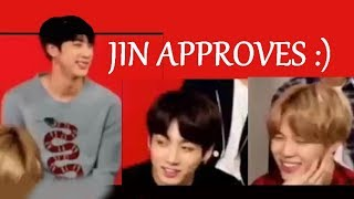 Kim SeokJin: The President of the Jikook Fanclub
