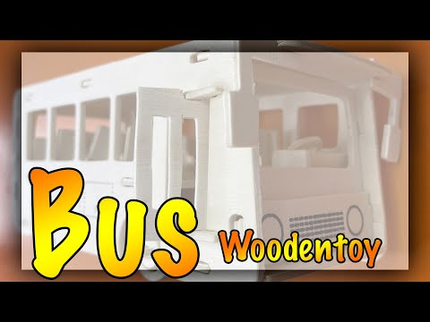 #wooden #Bus #toy