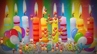 Kitne dino ke baad ghari ye aaye | Happy birthday Status Video | Best Birthday video for friends.
