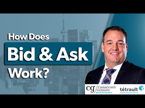 How Does Bid And Ask Work