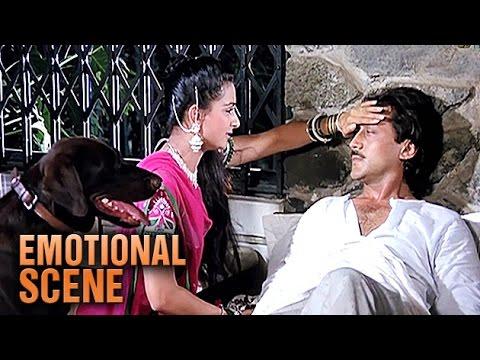 Poonam Dhillon & Jackie Shroff | Emotional Scene | Teri Meherbaniyan | HD