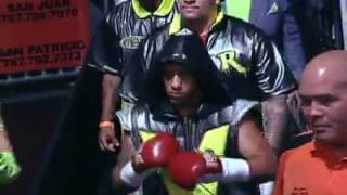 VIDEO - PELEA -  Emmanuel 'Manny' Rodríguez vs Miguel Cartagena