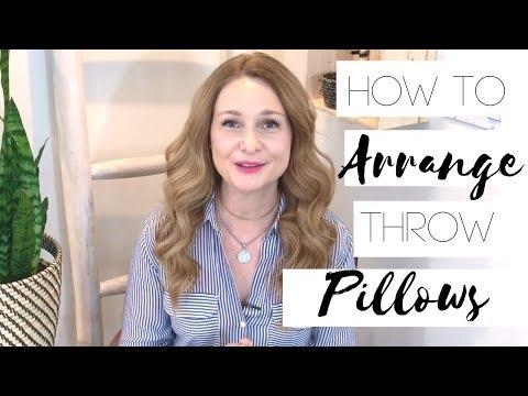 How to Arrange Throw Pillows - Karla Dreyer