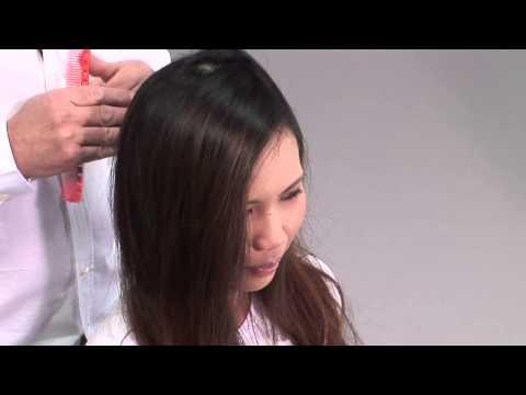 Каре на длинных волосах - видео-урок по базовой салонной стрижке