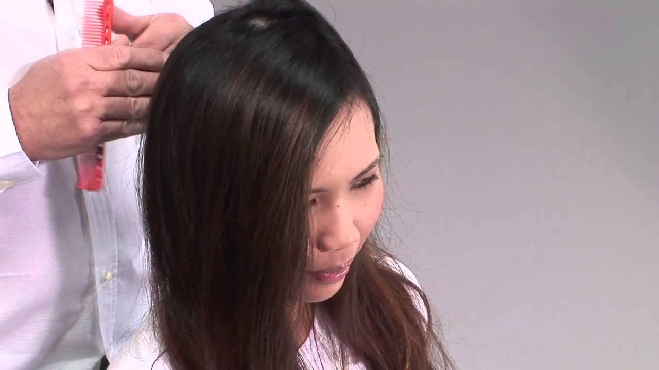 Каре из длинных волос видео уроки для