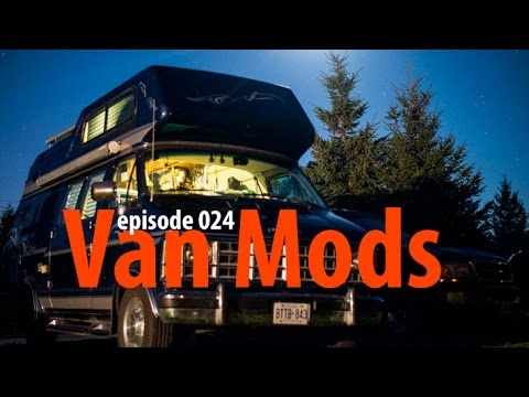 Getting some Van Mods - Van Life 024