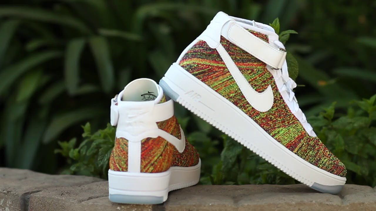 a25c784b60d Nike Air Force 1 Ultra Flyknit Mid Review - YouTube