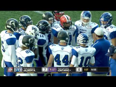 2016 Football Canada Cup - 3rd Place Game - Alberta vs Ontario