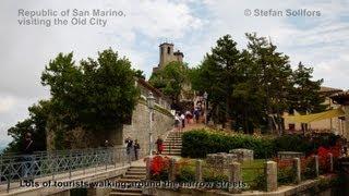 San Marino, visiting the Old City