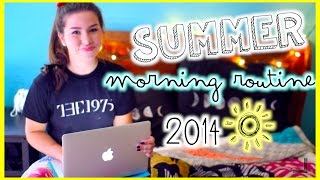 Morning Routine for Summer 2014 Thumbnail