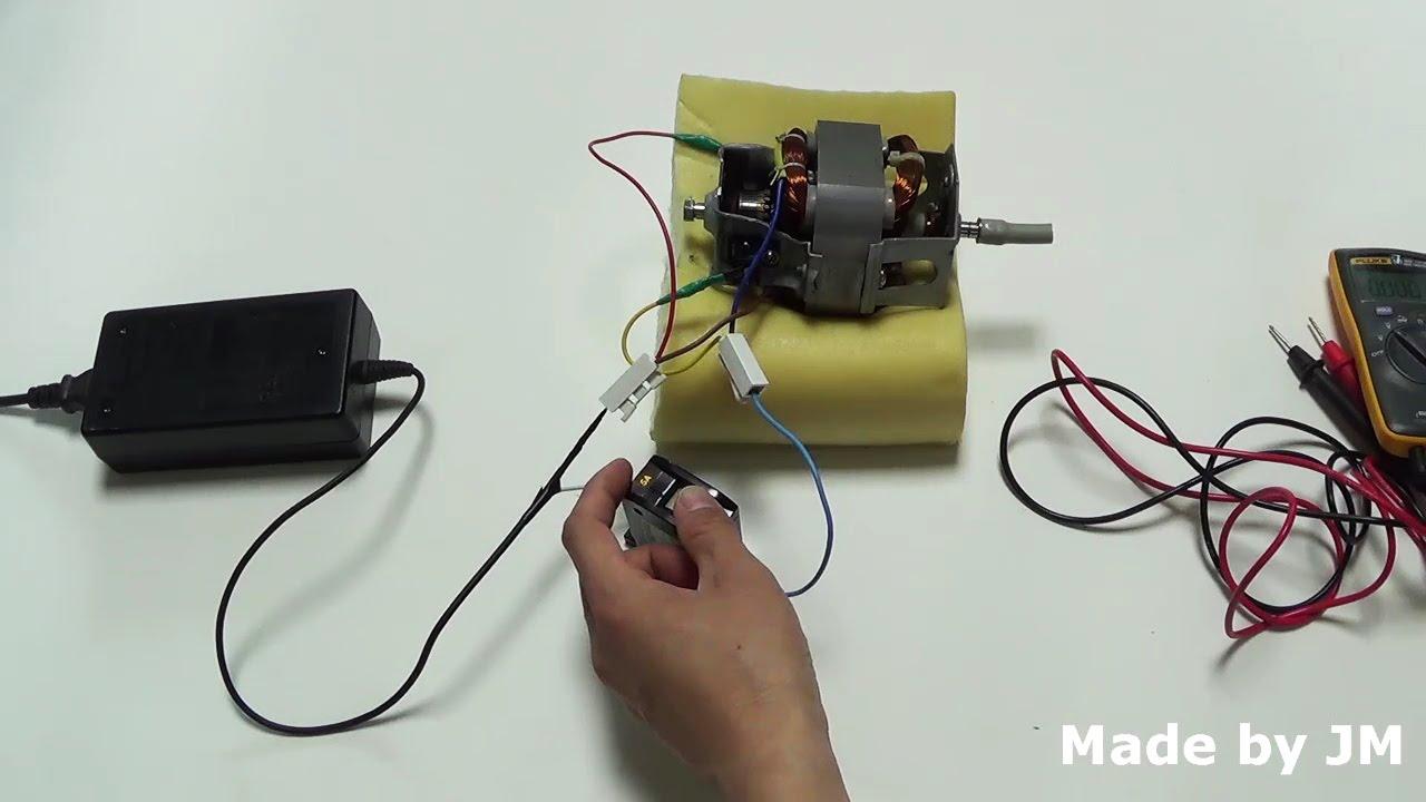 ac universal motor running on dc [ 1280 x 720 Pixel ]