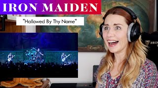 "Iron Maiden ""Hallowed Be Thy Name"" FIRST TIME REACTION & ANALYSIS by Vocal Coach/Opera Singer"