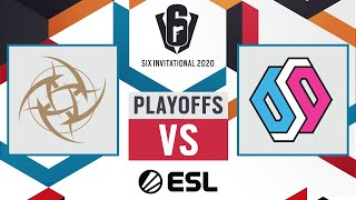 BDS Esport vs. Ninjas in Pyjamas - Six Invitational 2020 - Playoffs - Day 7