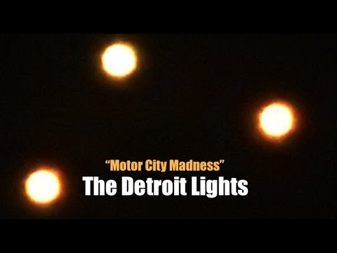 """*Armada* of Mysterious Lights FILL the Sky Near South Detroit! 