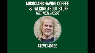 Musicians Having Coffee & Talking About Stuff - Episode 13 - Steve Morse