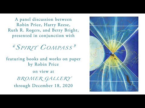 """A panel discussion in conjunction with """"Spirit Compass,"""" featuring work by Robin Price"""
