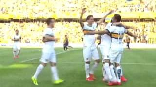 Gol de Chávez - Rosario Central 0-1 Boca - Torneo de Primera 2015