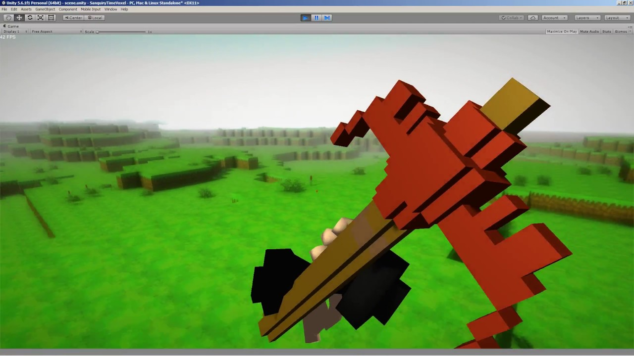 Tutorial] c# voxel terrain with infinite terrain, saving and