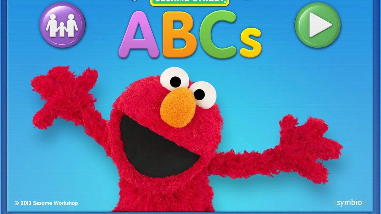 Elmo loves abcs learning game app for kids youtube for Elmo abc