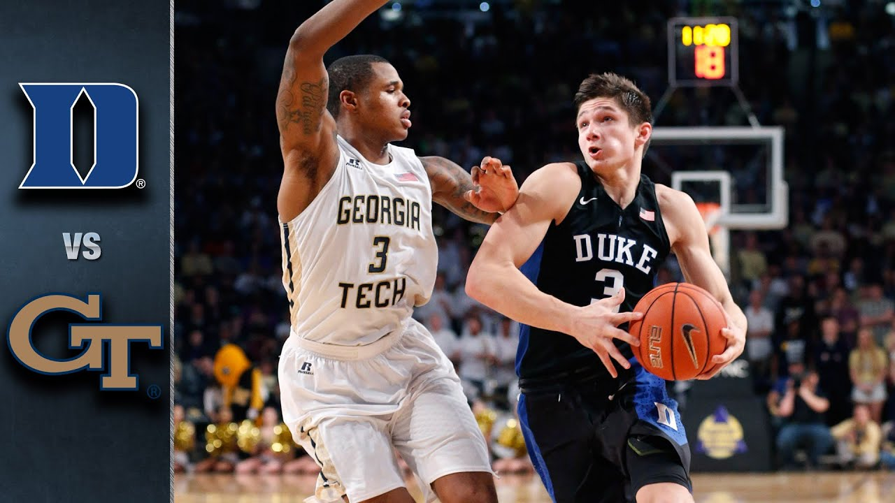 Image result for Duke vs Georgia Tech basketball