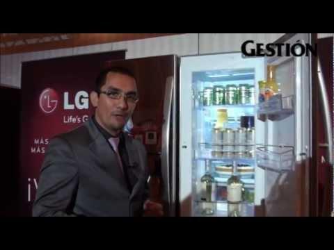 LG presenta su nueva línea de refrigeradoras top