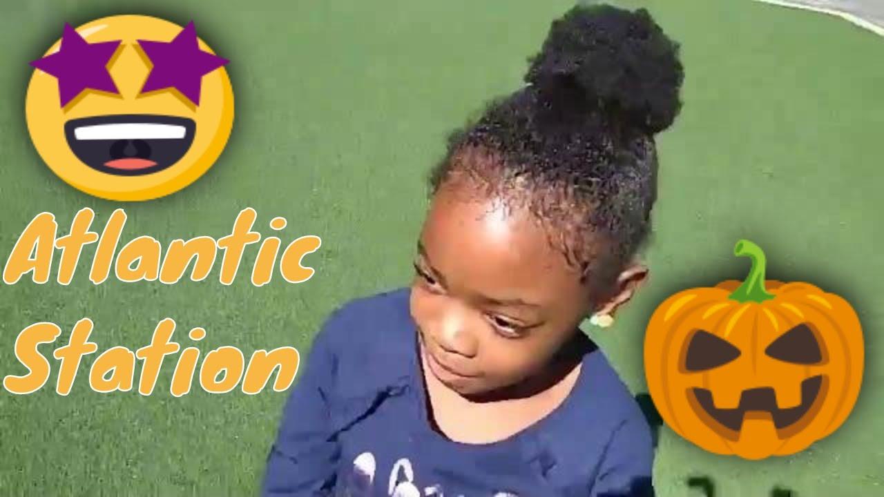halloween fun at atlantic station🎃👻 - youtube