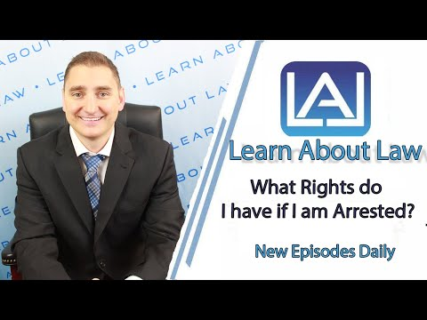 What Rights do I have if I am Arrested in Illinois? | Illinois Criminal Law 2017