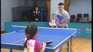 福原vs南原 卓球