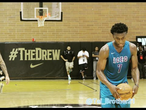 Detroit Pistons' Stanley Johnson COOKS the 2015 Drew League for 31 points with Andre Drummond!