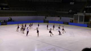 2010 Frost Work (HUN) Junior Short Program Neuchatel Trophy Synchronized Skating