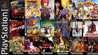 Gambar cover Top 20 PS1-PSX Games to Play on Android Phone-Tablet
