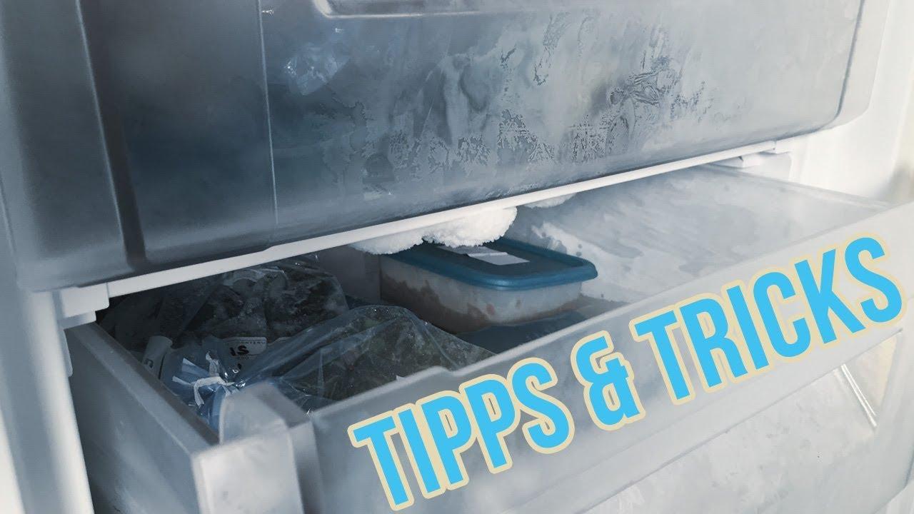 Siemens Kühlschrank Gefrierfach Abtauen : Gefrierschrank abtauen und reinigen i gefrierfach enteisen youtube