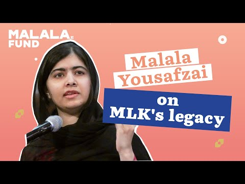 Malala Yousafzai at Ebenezer Baptist Church, Sunday September 3